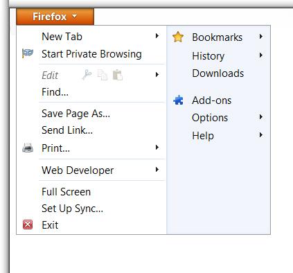 Enabling Cookies in Mozilla Firefox 4.0