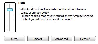 Enabling Cookies in Internet Explorer 8.0