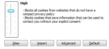 Enabling Cookies in Internet Explorer 9.0
