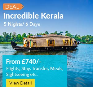 5 nights 6 day kerla tour package